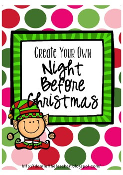 Create your own Night Before Christmas