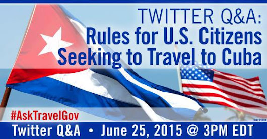 Travel - State Dept on Twitter