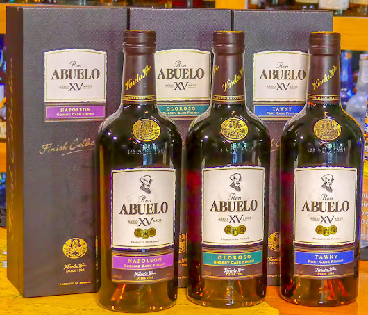 Abuelo XV Finish Collection features limited edition double aged rums