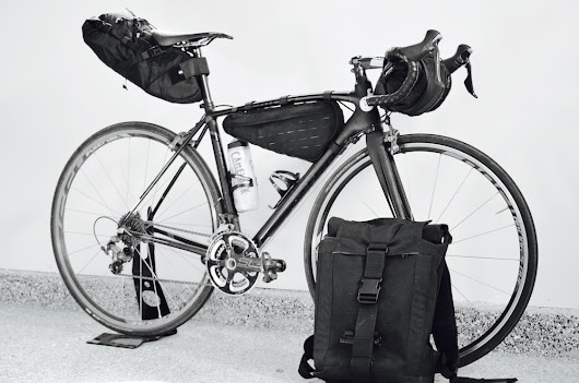 Vagabond Bicycle Bags Go Modular By Making BikePacking Bags That Turn Into A Hiking Backpack! - CyclingAbout