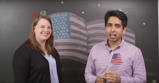 Help Khan Academy create lessons on US government