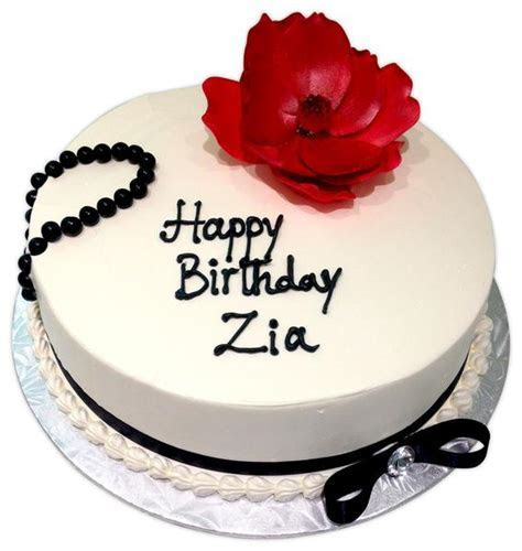 Zia Birthday Cake   Rashmi's Bakery