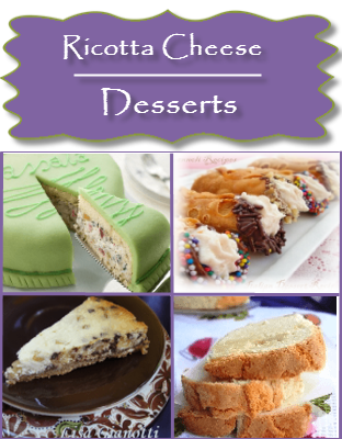 Ricotta Cheese Recipes Italian Dessert Recipes