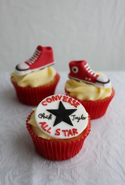 Converse Cupcake Tennis Shoes