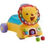 Fisher Price - 3-in-1 Sit, Stride & Ride Lion