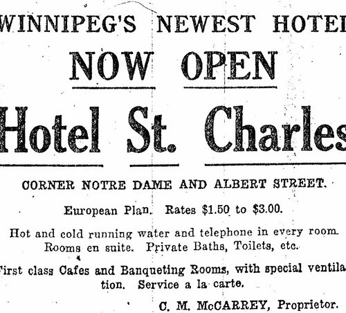 St. Charles Hotel Opening
