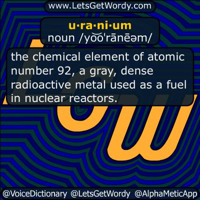 uranium 03/11/2016 GFX Definition