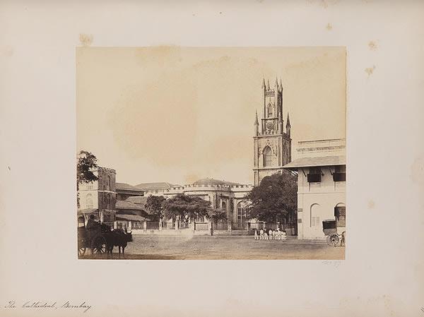 The Cathedral, Bombay (Mumbai), 1855-1862