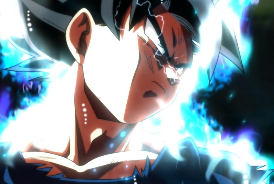 Dragon Engine Ring Scene Menu: Ultra Instinct Goku Wallpaper Engine