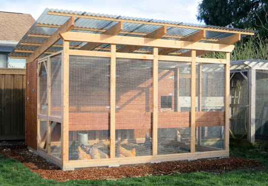 The Garden Loft – Large Chicken Coop Plans ::: TheGardenCoop.com