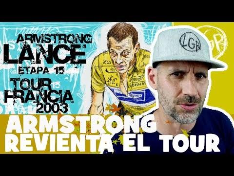 TDF2003. 'LANCE ARMSTRONG REVIENTA EL TOUR en LUZ ARDIDEN!'. Tour de Francia 2003. Etapa 15 - Alfonso Blanco