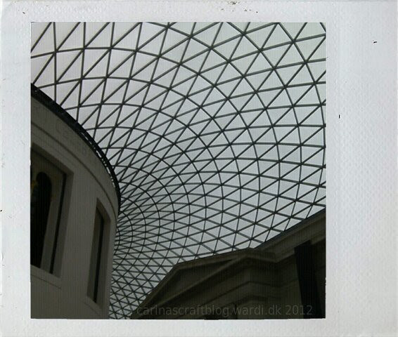 British Museum glass roof