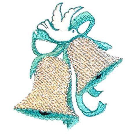 Dove Wedding Bells Embroidery Design   AnnTheGran