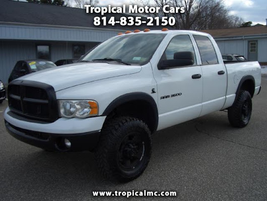 Used 2005 Dodge Ram 3500 for Sale in Erie PA 16505 Tropical Motor Cars