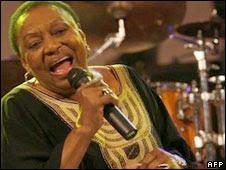 Miriam Makeba. File pic