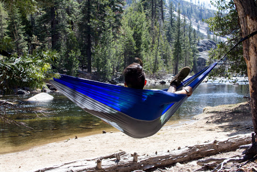 Enter to win an awesome camping hammock today!