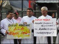 Protest demanding release of Tamil political prisoners gains momentum in Jaffna
