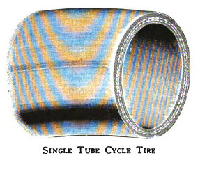 Single Tube Cycle Tire (example)