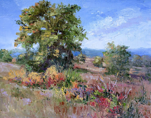 SHERI JONES TREES ON THE HILL