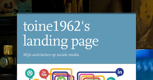 toine1962's landing page