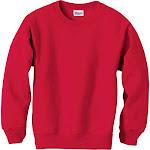 Hanes ComfortBlend EcoSmart Crew Sweatshirt Deep Red