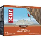 Clif Bar Energy Bar, Crunchy Peanut Butter - 12 count, 2.4 oz bars
