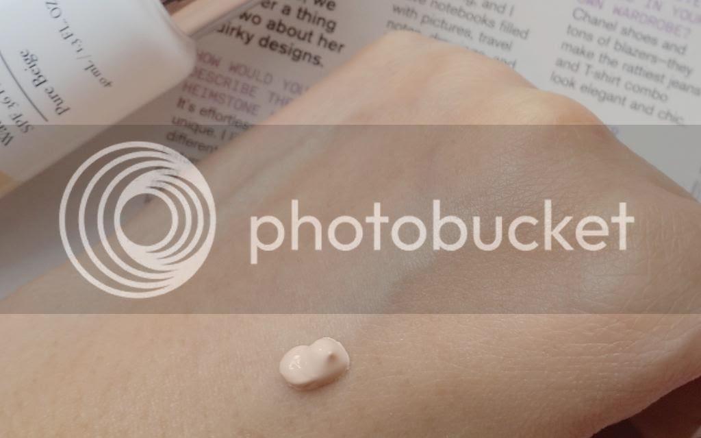 laneige water base cc cream swatch