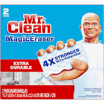 Mr Clean MagicEraser Cleaning Pads, Household, Extra Durable - 2 pads