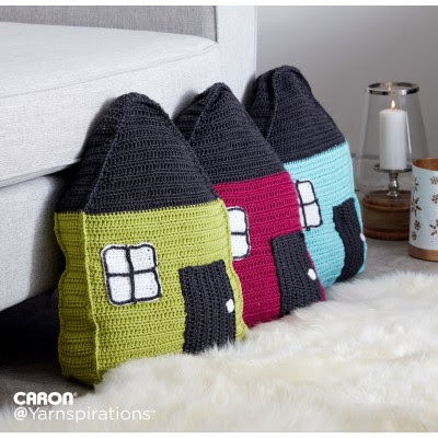 Cozy Cottage Crochet Pillow