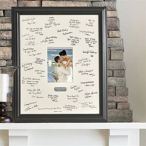 A new spin on the old fashioned guest book, the