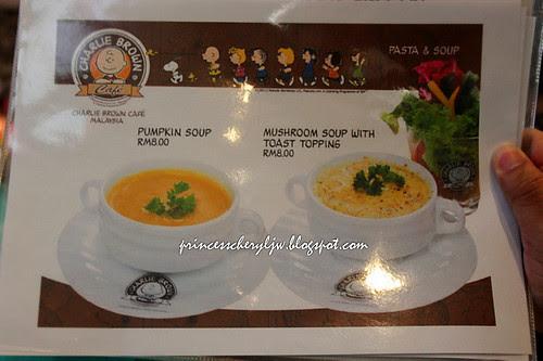 Charlie Brown Cafe - menu 03