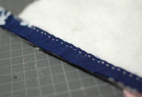 How to make a string quilt pouch 4