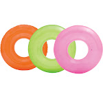 Intex 59260EP Colorful Transparent Inflatable Swimming Pool Beach Tube Raft by VM Express