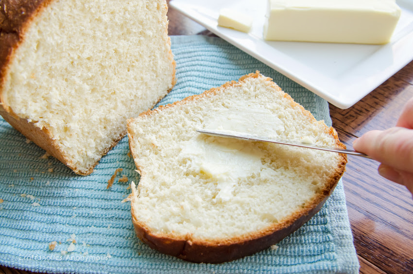 Craftaholics Anonymous® | Easy Bread Machine Bread Recipe