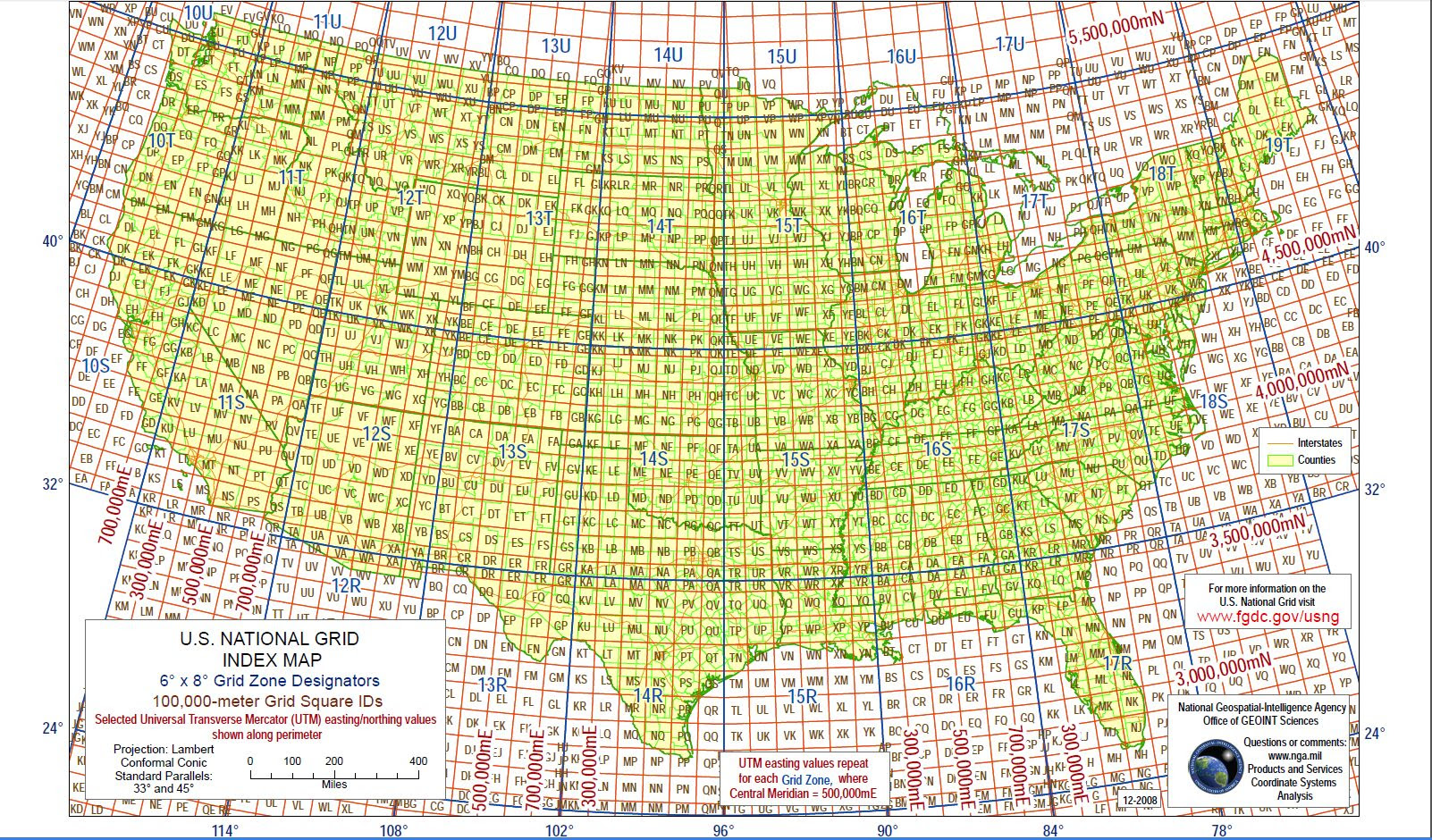 Lat Long Map Of Us Usa Map Lat Long