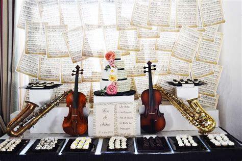 Music / Instruments Wedding Party Ideas in 2019   Wedding