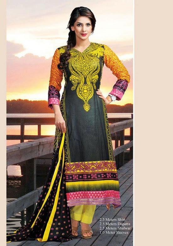 Dawood-Textile-Classic-Lawn-Collection-2013-New-Latest-Fashionable-Clothes-Dresses-4