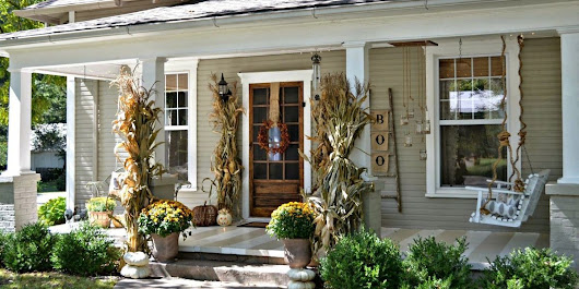 19 Fall Porch Decor Ideas - Best Autumn Front Porch Decorations