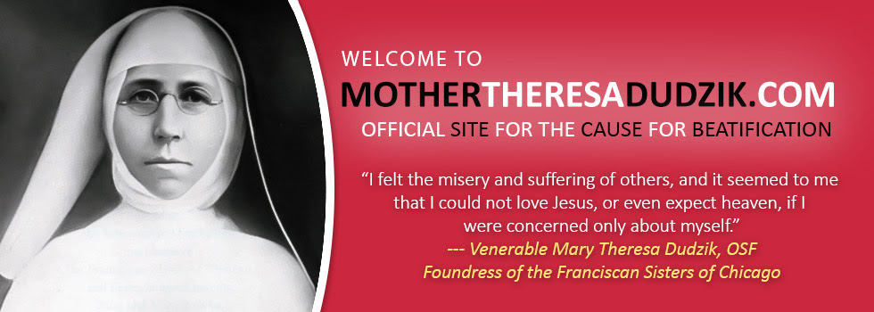 A Heart For Jesus Mother Mary Theresa Dudziks Biography