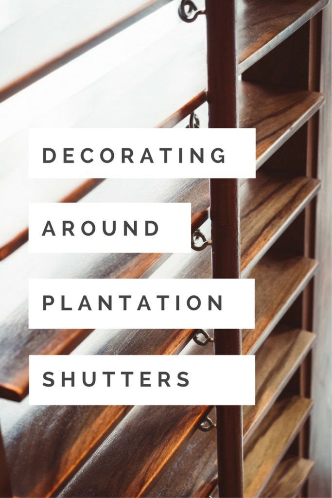 Decorating Around Plantation Shutters Wasatch Shutter