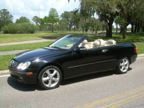 Purchase used 2004 MERCEDES CLK 320 TAN LEATHER INTERIOR ...