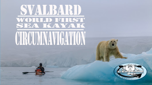 WorldWild Adventures   » Feb 2016 Jaime's Kayak Svalbard North American Talk Tour