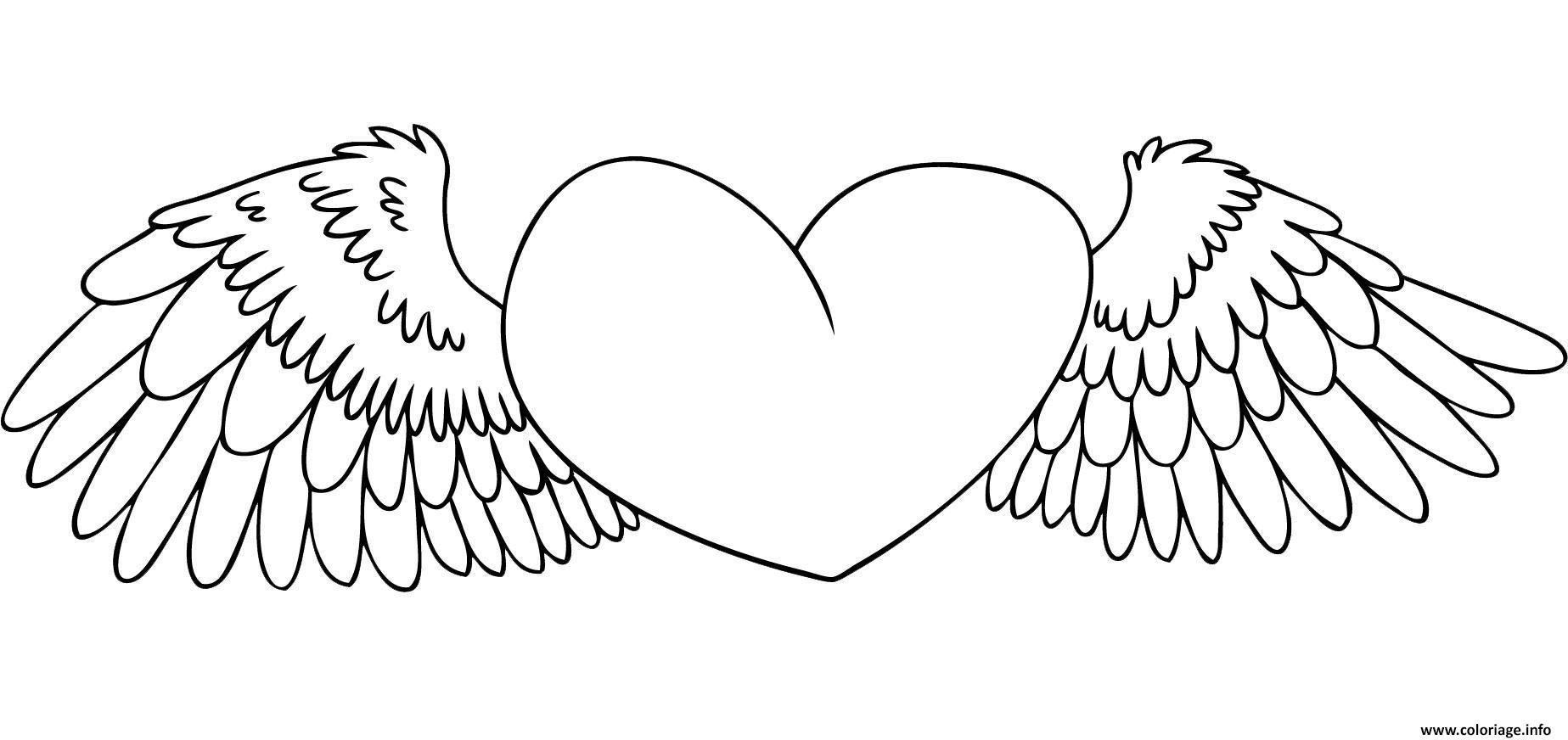 Coloriage Coeur 70 Dessin  Imprimer