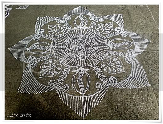 My Kolam for the contest1