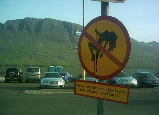 Meanwhile …. In Iceland