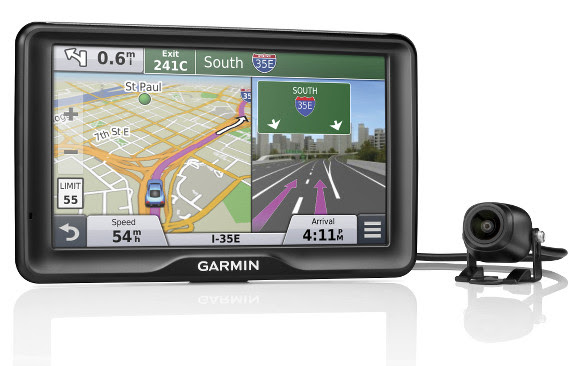 7 inch Garmin nüvi 2798LMT with wireless backup camera