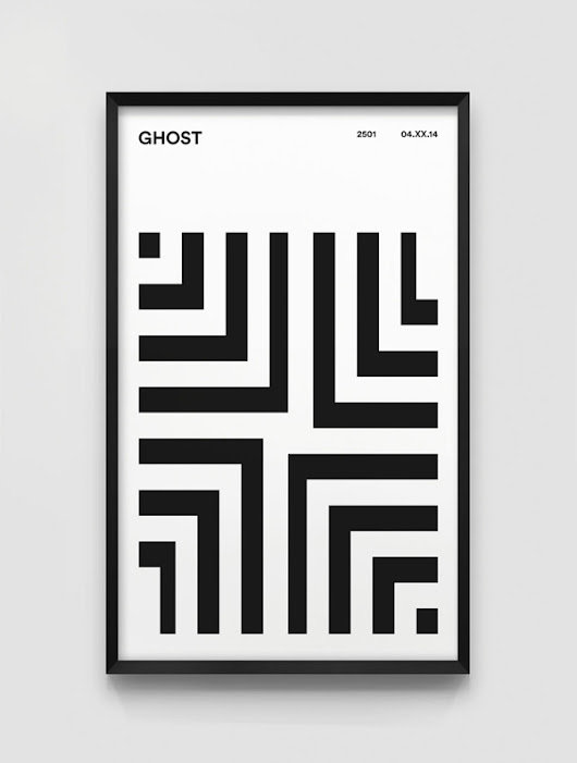 Project 2501: poster homages to Ghost in the Shell - Design daily news