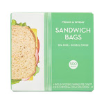 Prince & Spring Lunch Bag and Lunch Box 500-Ct. Double Zipper Sandwich Bag Pack One-Size