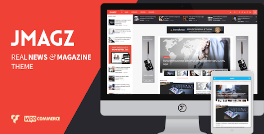 JMagz - Tech News Review Magazine WordPress Theme