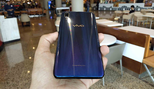 Vivo V11 Pro with in-display Fingerprint Scanner launched in India - The Techgram
